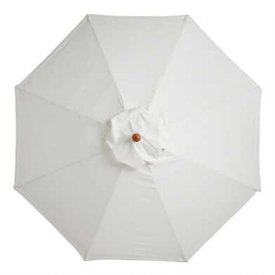 Natural Cotton 9 Ft Replacement Umbrella Canopy