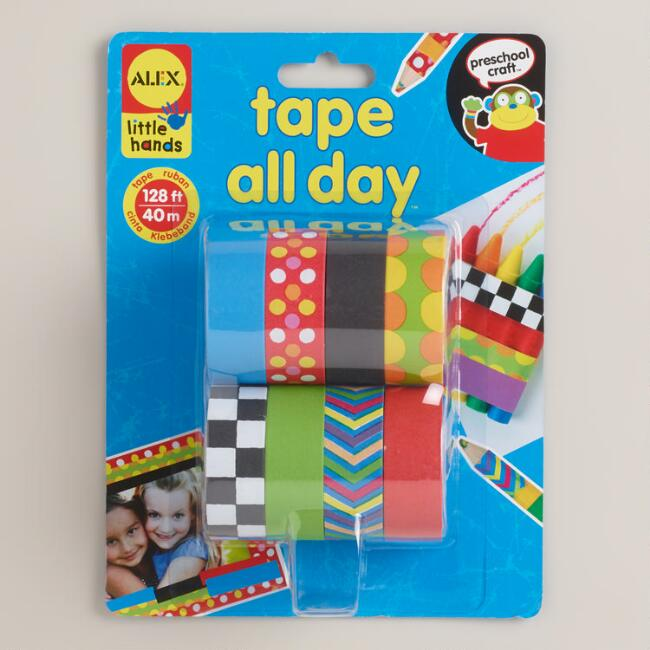 Tape All Day Craft Tape, 8-Pack