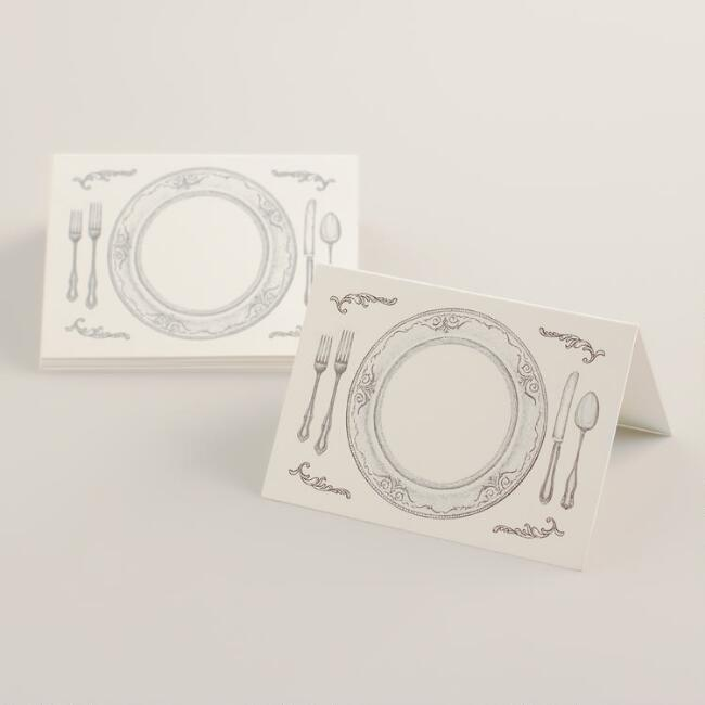 Perfect Seating Place Cards, 12-Pack