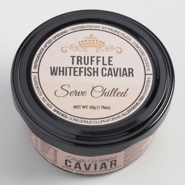 Pacific Truffle Golden Whitefish Caviar
