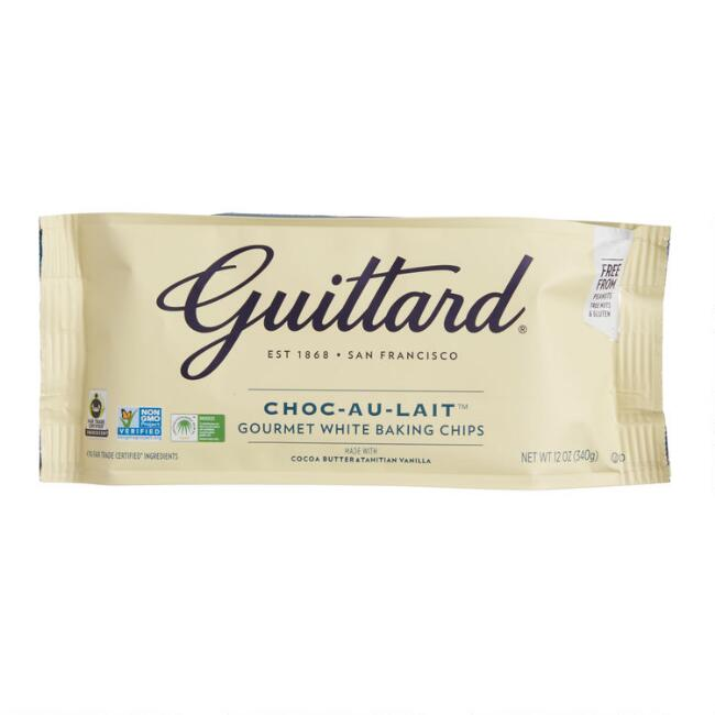 Guittard Choc-Au-Lait White Baking Chips