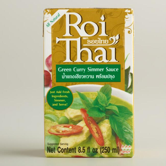 Roi Thai Green Curry Simmer Sauce