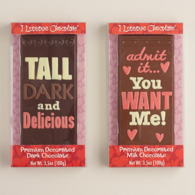 My Favorite Chocolate Tablet Bars, Set of 2