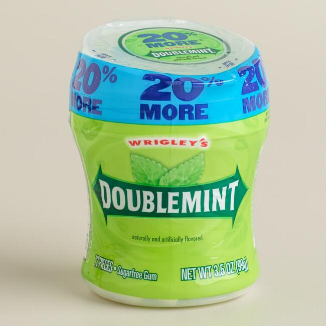 Wrigley's Doublemint Gum Cup