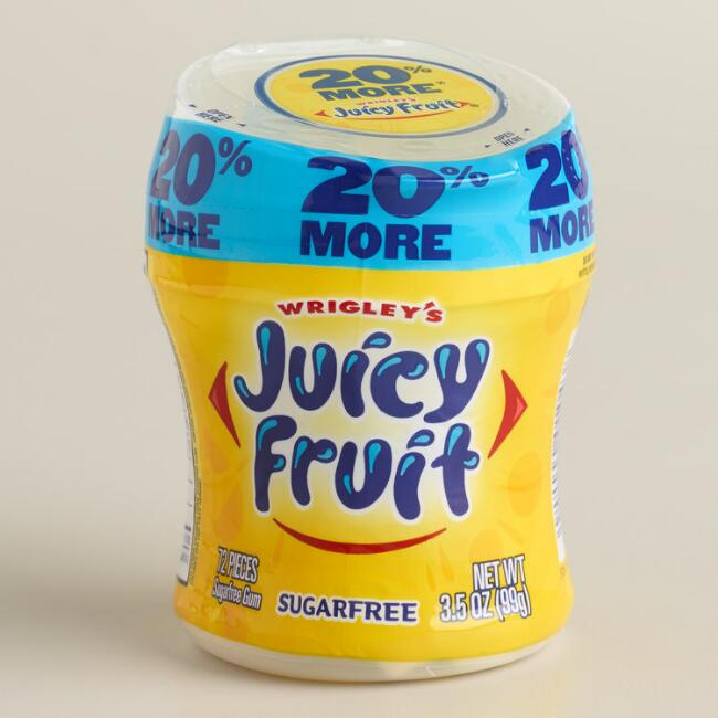 Wrigley's Juicy Fruit Gum Cup