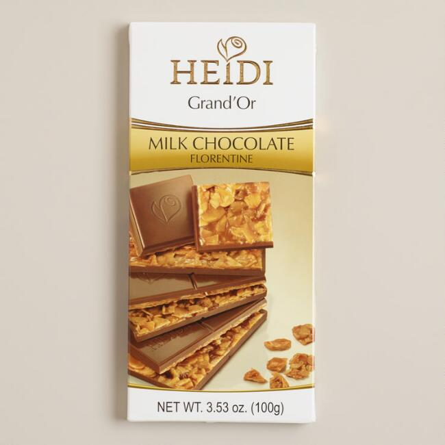 Heidi Florentine Milk Chocolate Bar