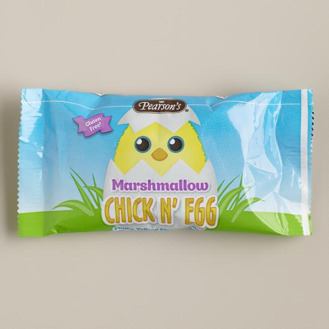 Pearson Marshmallow Chick N' Eggs, Set of 3