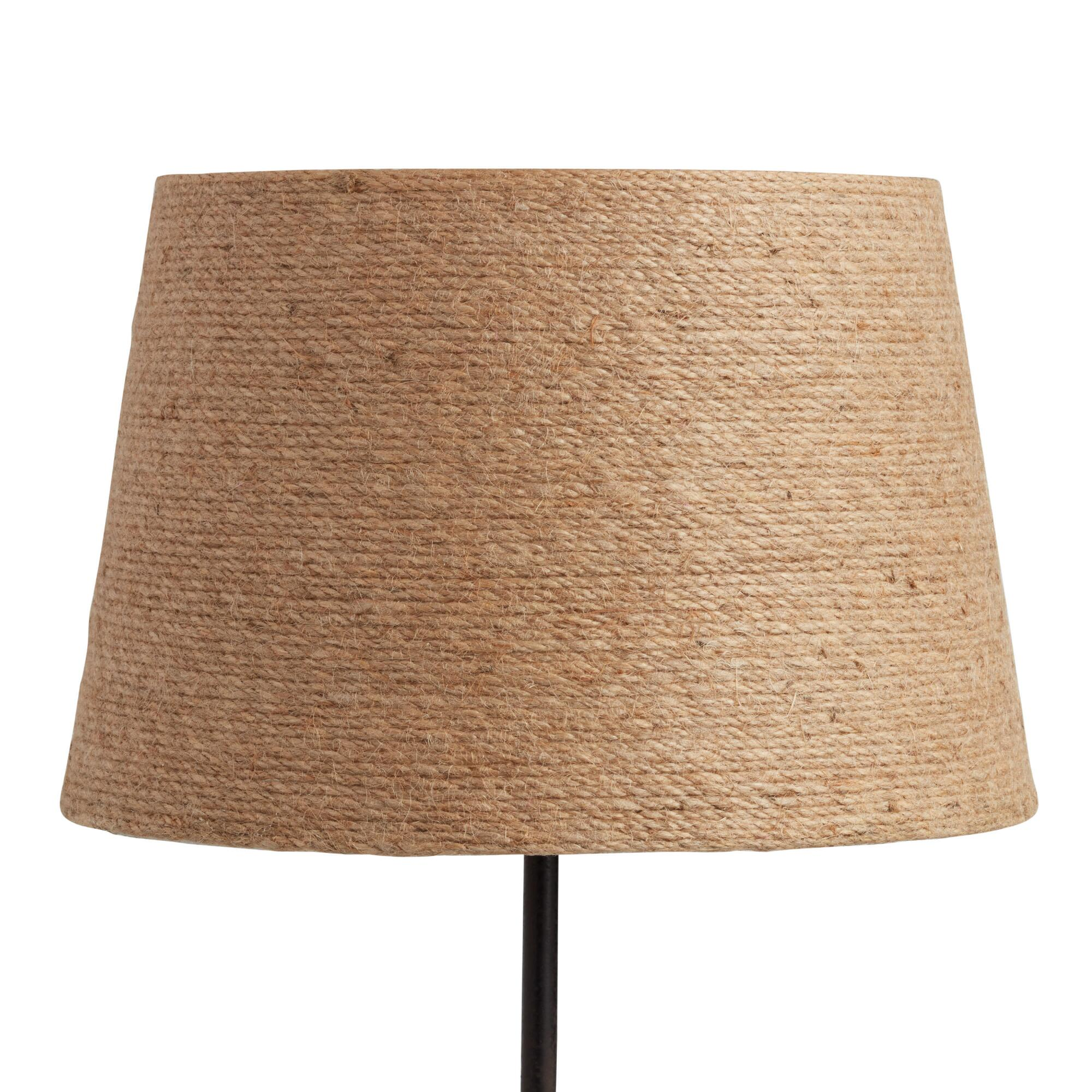 Twine-Wrapped Accent Lamp Shade by World Market
