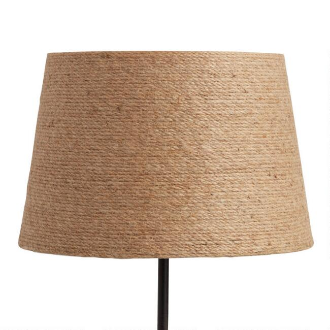 Twine Wrapped Accent Lamp Shade
