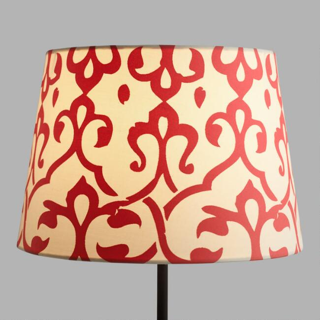 Omar Print Accent Lamp Shade