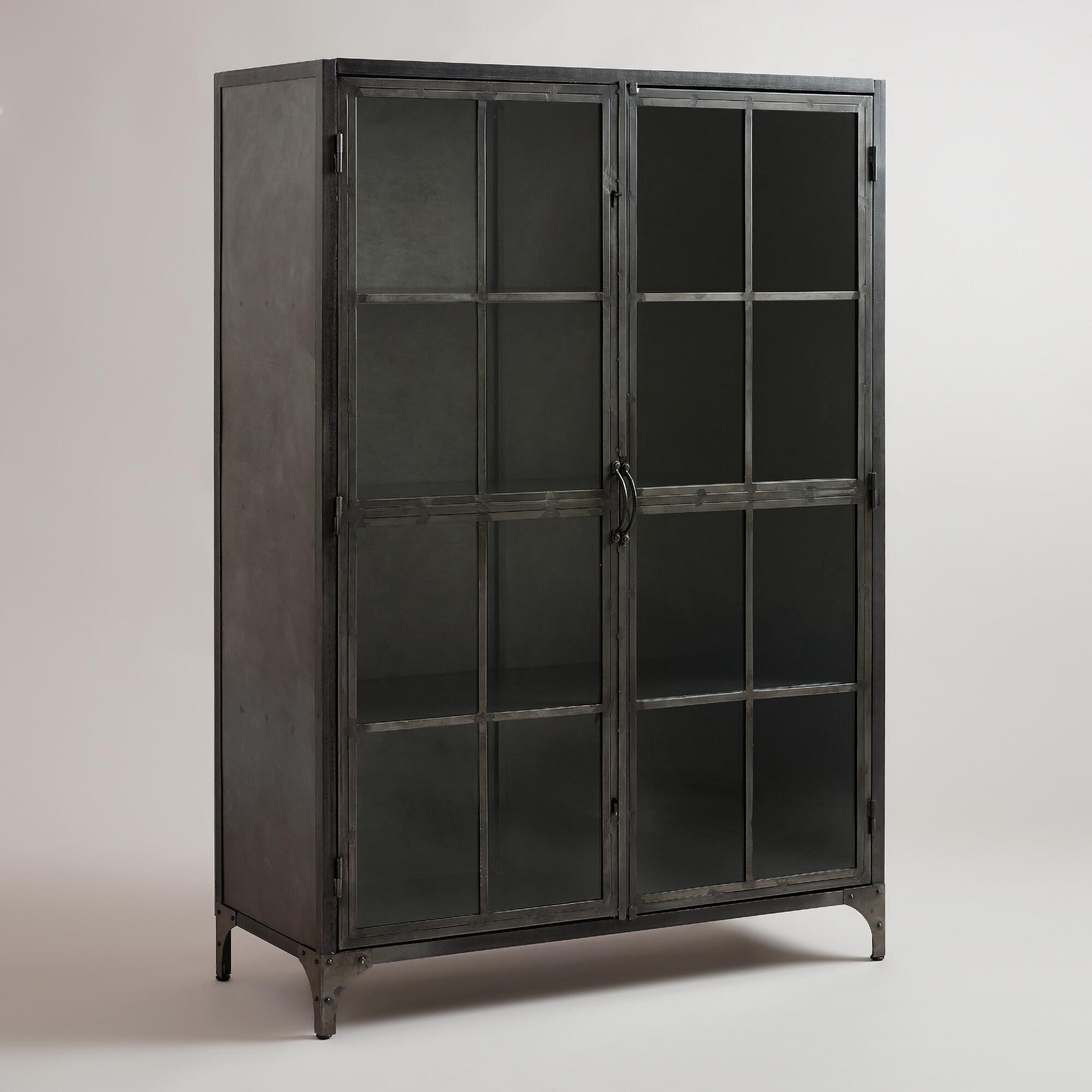 Metal Display Cabinet World Market