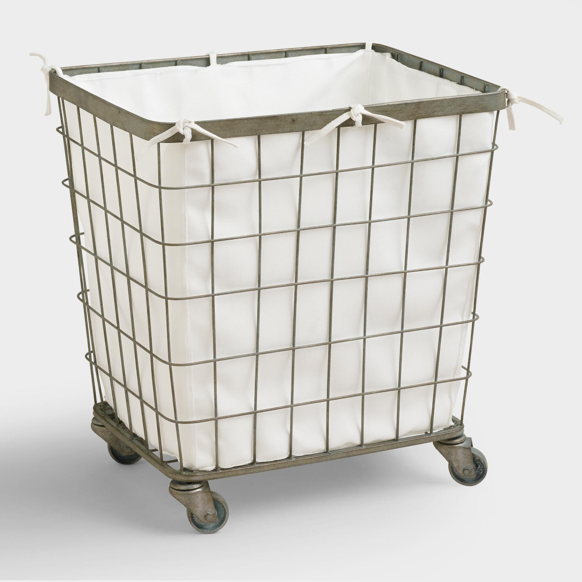 Image result for farmhouse laundry basket