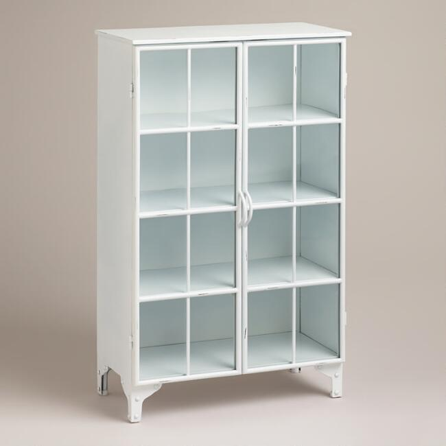 White Giselle Double Cabinet