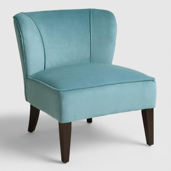 Caribbean Blue Quincy Chair