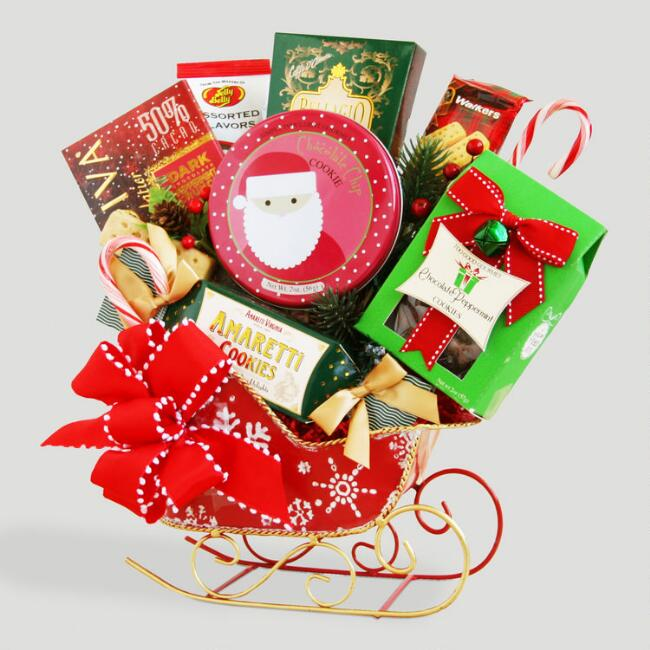 Sleighful of Sweets Holiday Gift Basket