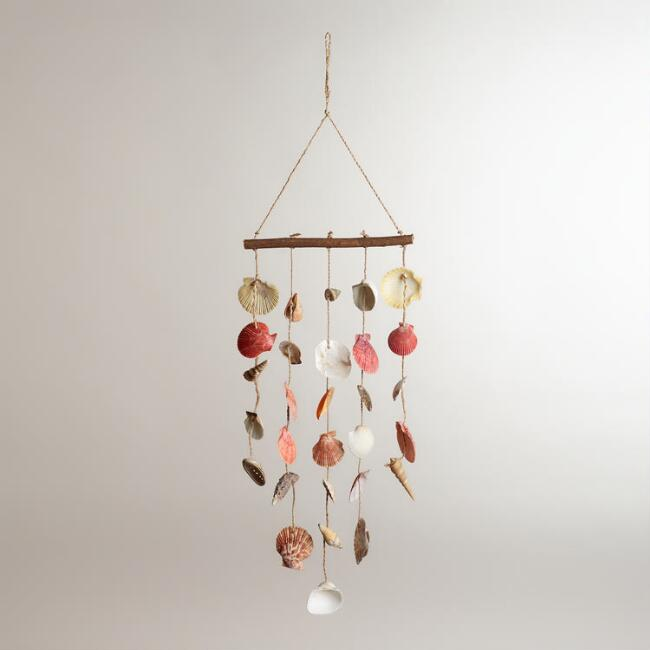 Mixed Seashell Wind Chime