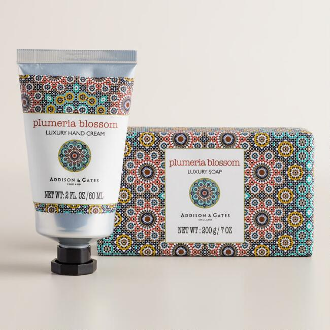 Asquith and Somerset Plumeria Hand Care Collection