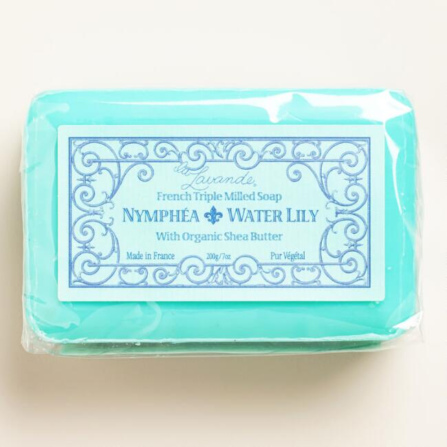 La Lavande Water Lily Bar Soap