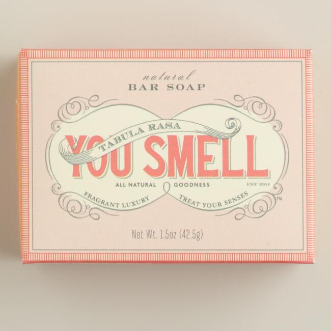 You Smell Peach Mini Bar Soap