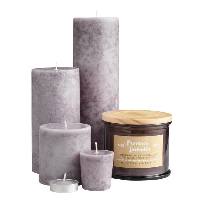 Provence Lavender Candle Collection
