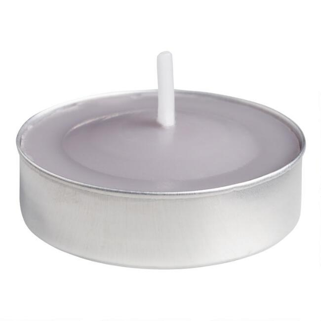 Provence Lavender Tealight Candles 12-Pack