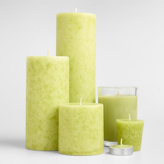 Spanish Citrus Candles