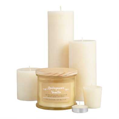 Madagascar Vanilla Candle Collection
