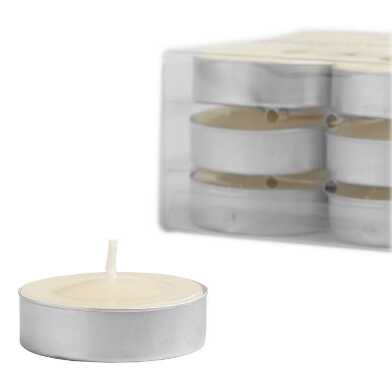 Madagascar Vanilla Tealight Candles 12-Pack