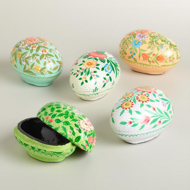 Muzafar Egg Boxes, Set of 5