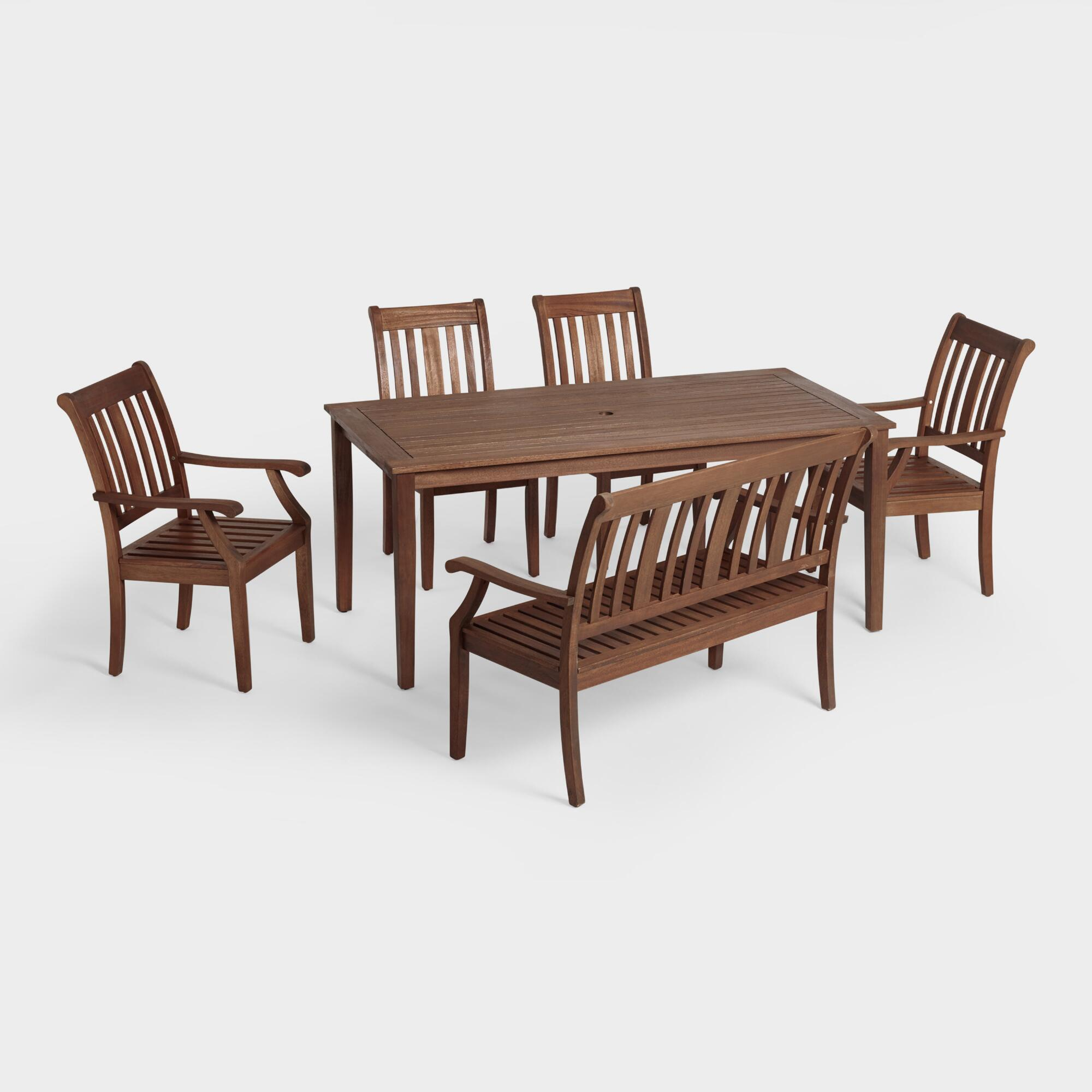 Outdoor table and chairs - St Martin Outdoor Dining Collection