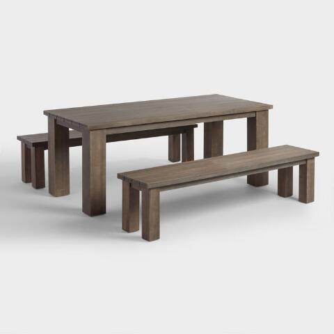 Wood San Paolo Dining Table World Market