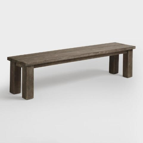 Wood San Paolo Dining Bench World Market