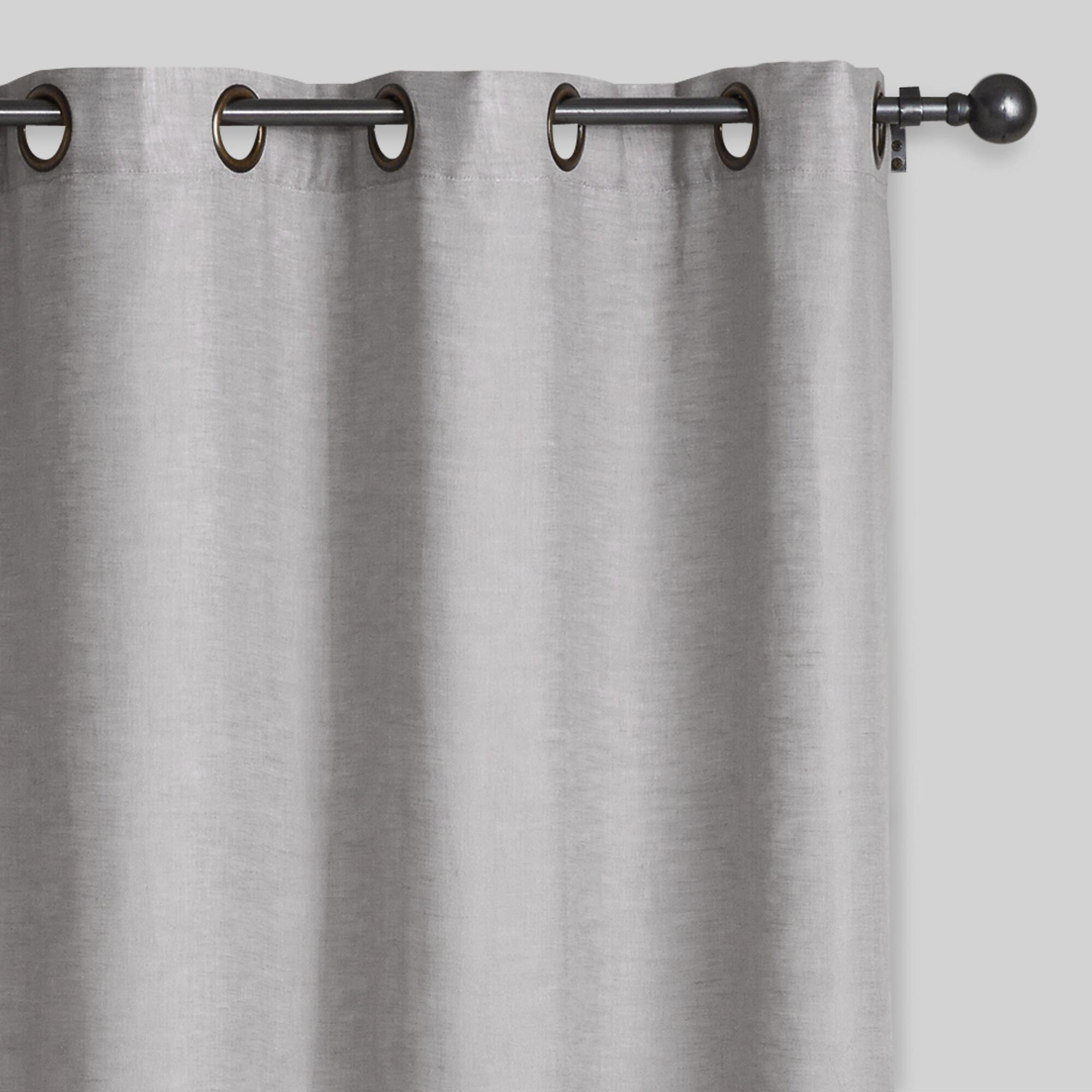 home grey linen settings blackout affordable curtains light modern and decor functions