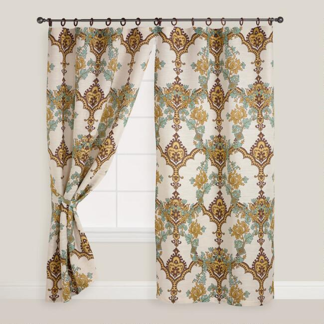 Angeline Jute Ring Top Curtain