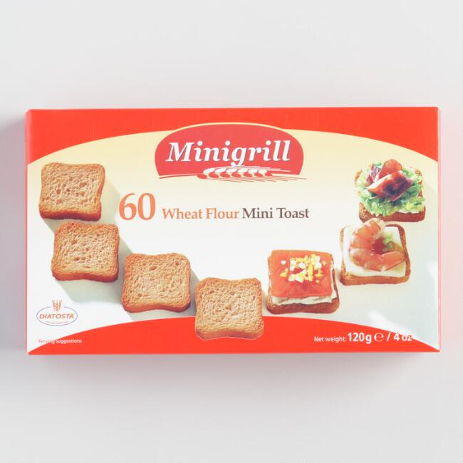Diatosta Mini Toasties, Set of 18