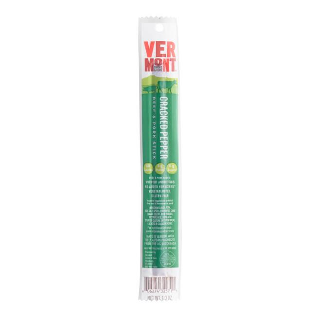 Vermont Cracked Pepper Beef and Pork Stick