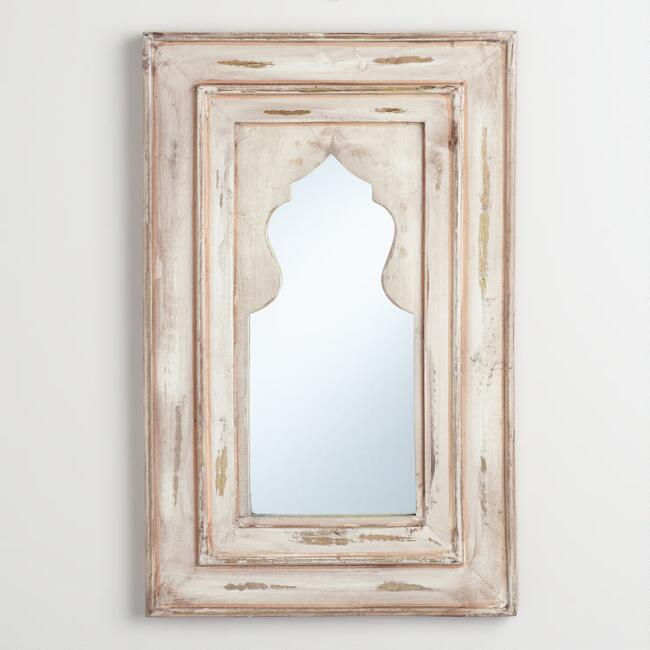 Ivory Dhanya Arch Mirror