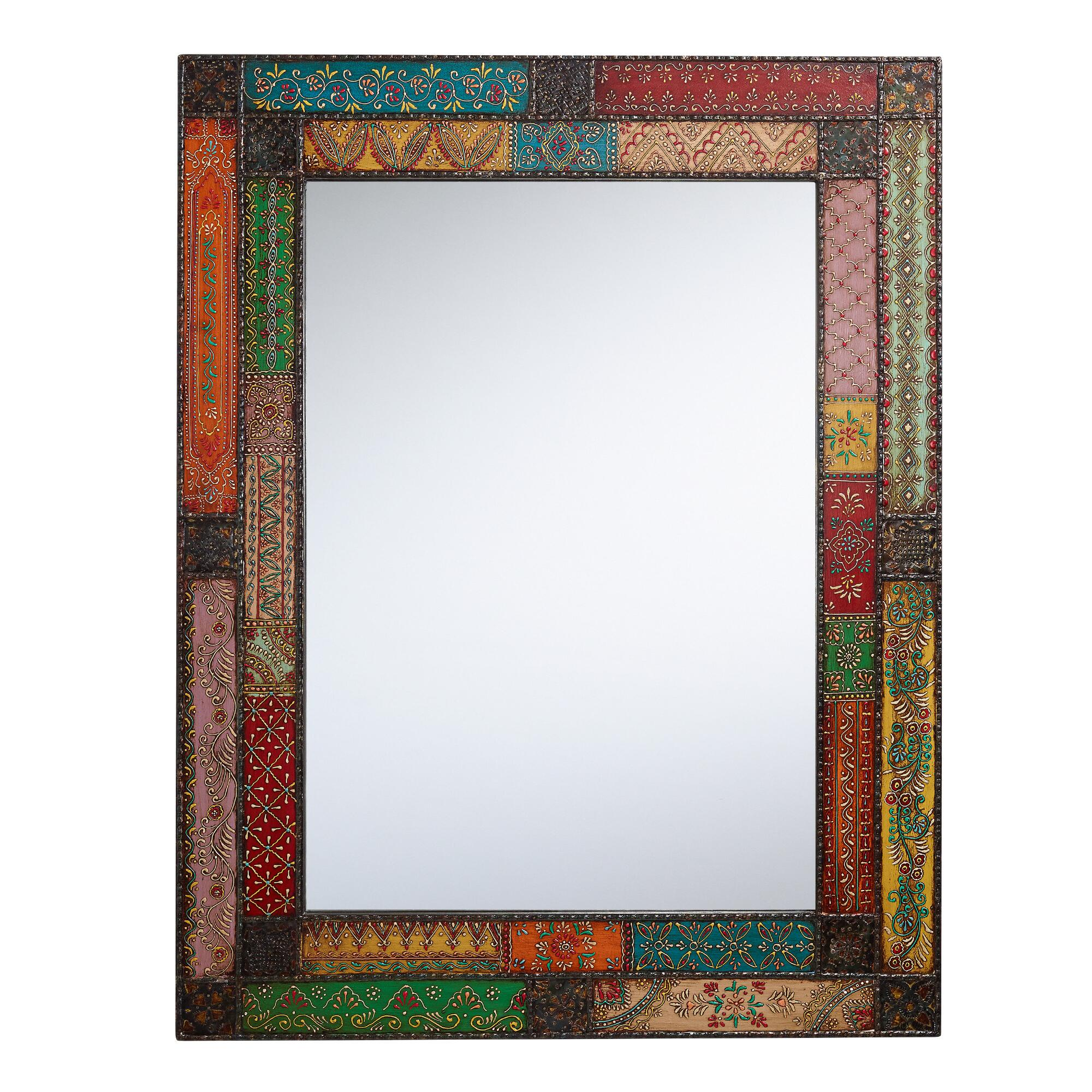 Patchwork Kavana Mirror: Multi - Metal - Large by World Market