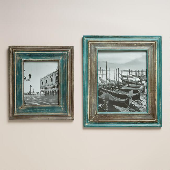 Blue and Gray Cole Wall Frames