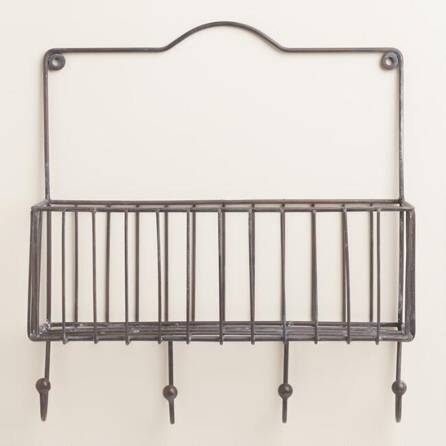 Galvanized Ashton Single Wall Basket