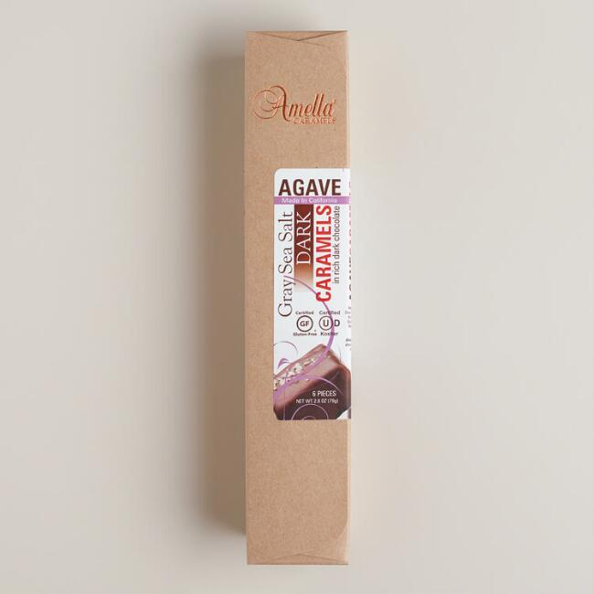 Amella Dark Chocolate Salted Caramels