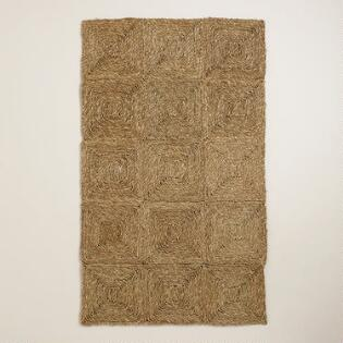 Seagrass Matting Collection World Market - Seagrass floor squares