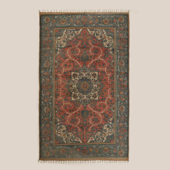 5'x8' Nomad Jute Persian-Style Rug