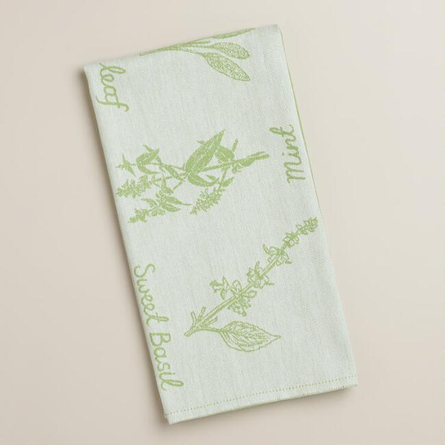 Herb Kitchen Towel