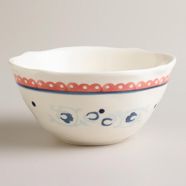 Rooster Cereal Bowls, Set of 4