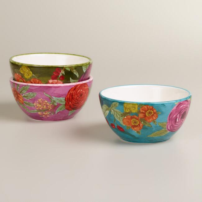 Garden Bowls, Set of 3