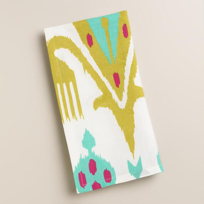 Ikat Aberdeen Napkins, Set of 4