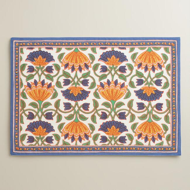 Lotus Placemats,  Set of 4