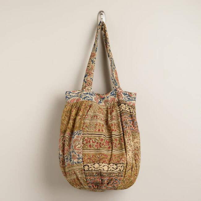Kalamkari Patchwork Bag