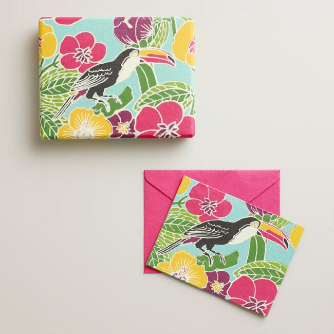 Toucan Handmade Boxed Notecards, Set of 8